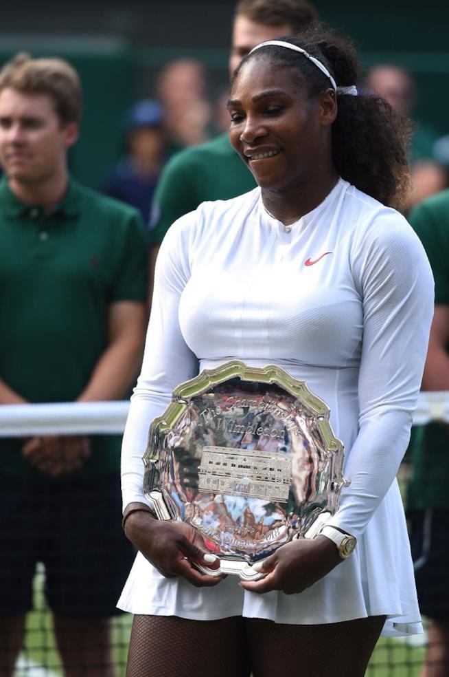 Serena Williams a Wimbledon