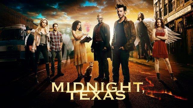 Il poster della serie TV NBC Midnight Texas