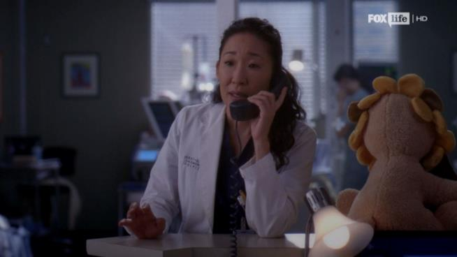 Sandra Oh è Cristina Yang in Grey's Anatomy