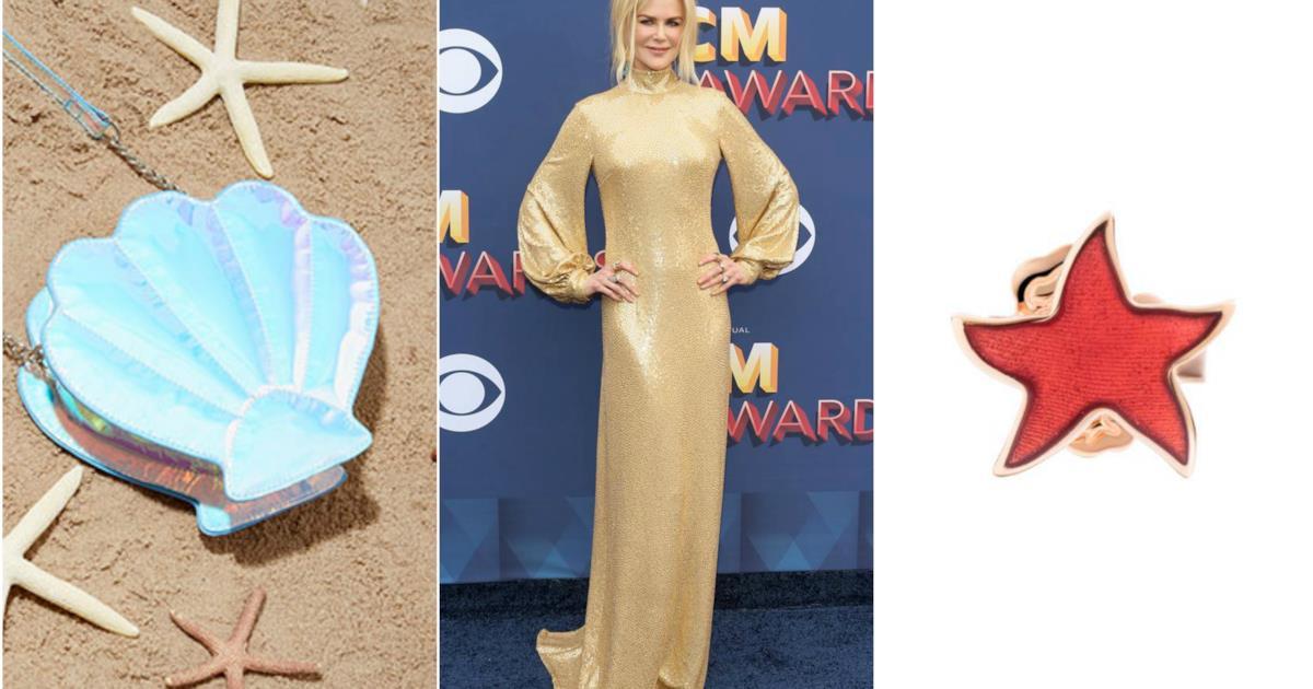 Nicole Kidman e il mermaid look: i consigli moda per abiti e accessori da sirena