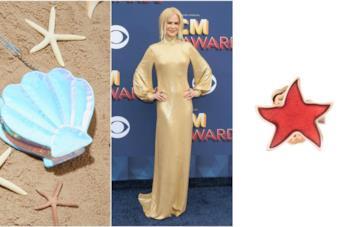 Nicole Kidman indossa un abito in stile sirena
