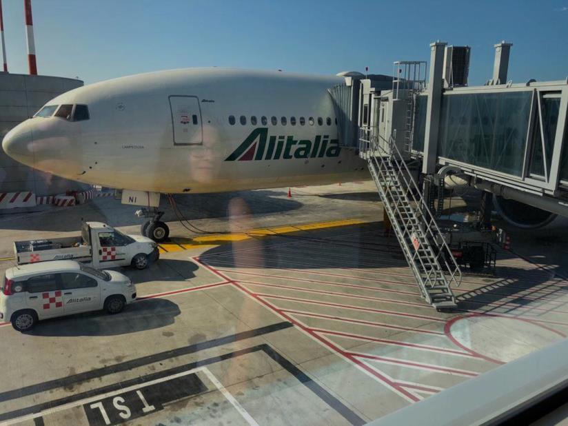 Aereo Alitalia Roma-Los Angeles