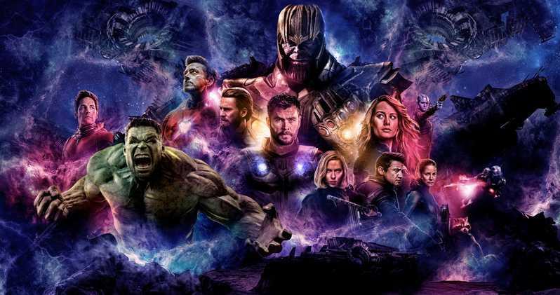 Il poster di Avengers Endgame