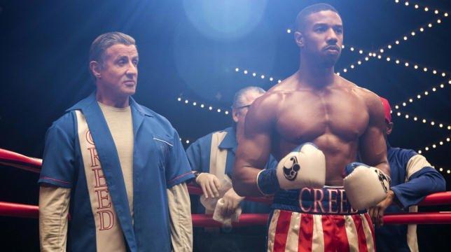 Una scena di Creed 2