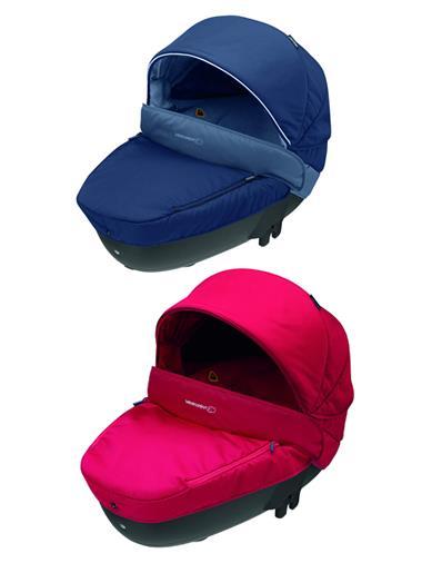 Bébé Confort Windoo Plus Navicella Omologata Auto per Neonati 0-10 Kg disponibile nei colori Dress Blue e Intense Red