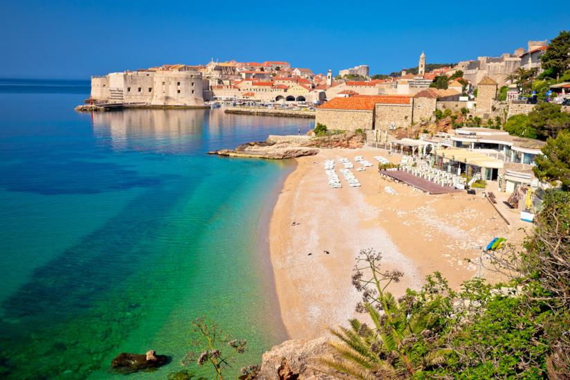 Spiaggia di Banje, Dubrovnik