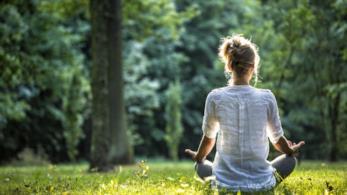 Meditare in mezzo alla natura