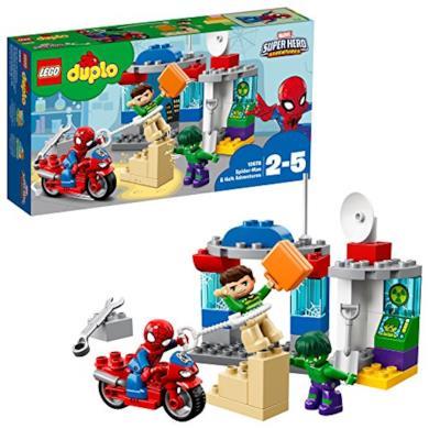 Lego Duplo - Super Heroes - le Avventure di Spider-Man e Hulk, 10876