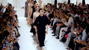 La sfilata Dior