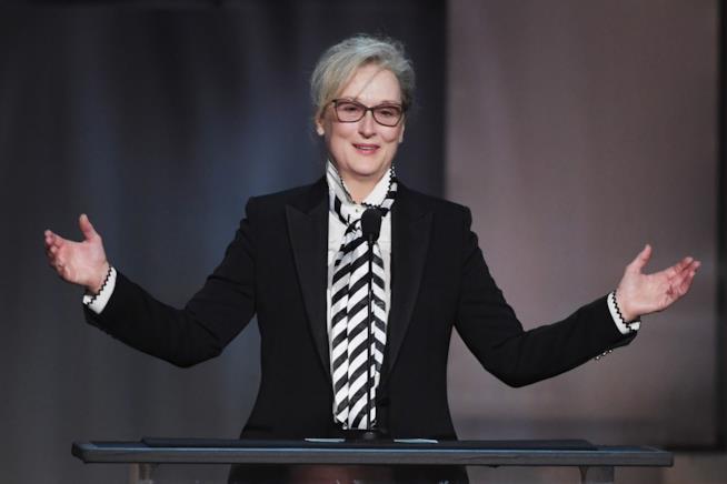Meryl Streep parla al NY Film Institute