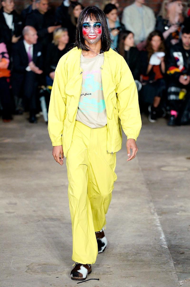 Sfilata PARIA FARZANEH Collezione Uomo Primavera Estate 2020 Londra - _ALE0129