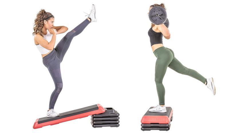 I benefici degli esercizi fatti con lo step