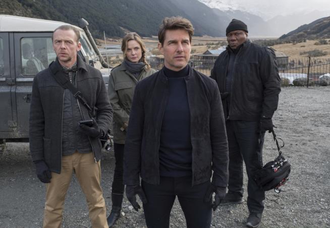 Il cast del nuovo Mission Impossible - Fallout (ph: Adam Dalton)