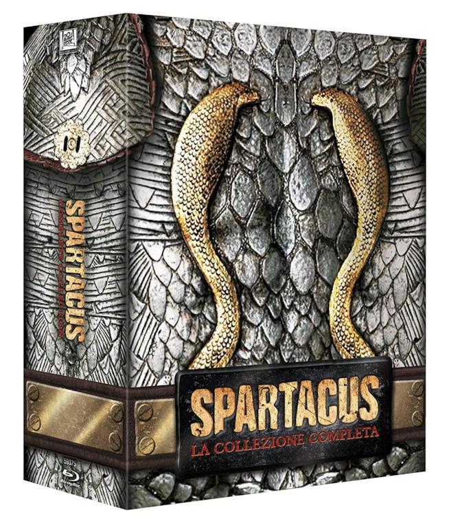 Cofanetto Blu-ray di Spartacus - Stagioni 1-3