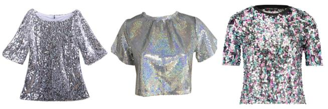 Con le paillettes e iridescenti, le magliette di tendenza per l'estate 2018