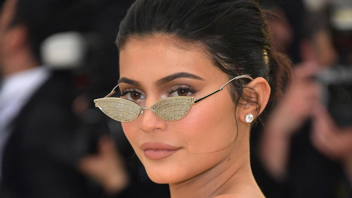Kylie Jenner in primo piano
