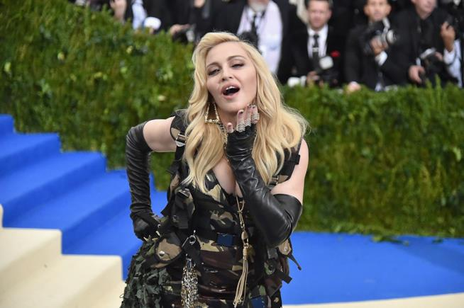 Primo piano di Madonna