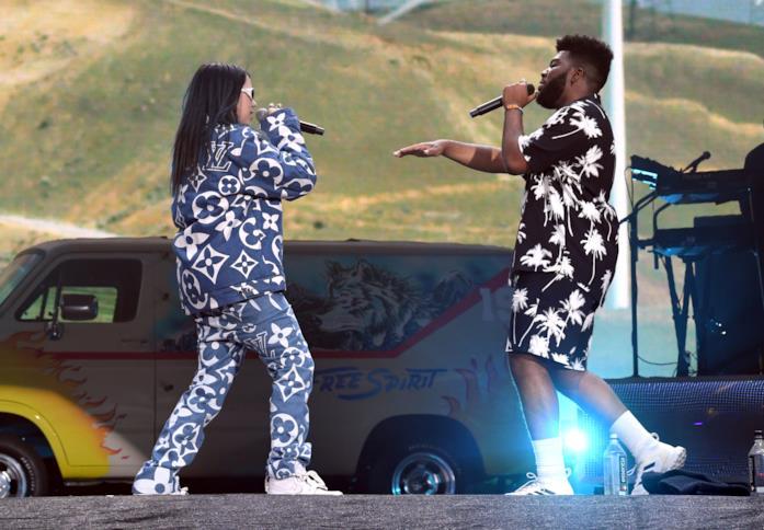 Billie Eilish canta con Khalid Cloachella 2019