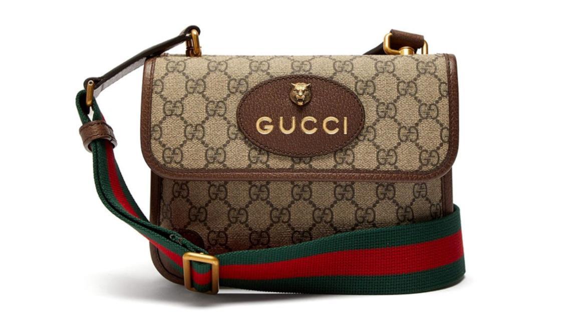 in vendita 7d0be a429f Gucci: la borsa GG Supreme in stile sia vintage che ...