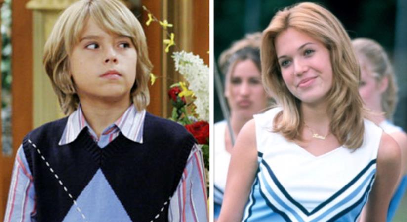 Cole Sprouse in Zack e Cody al Grand Hotel/Mandy Moore in Pretty Princess