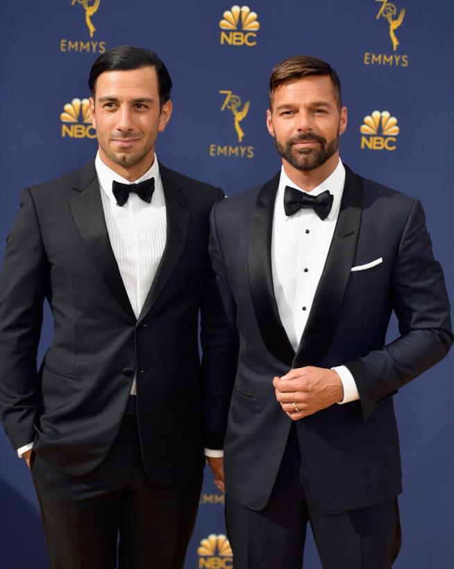 Ricky Martin e il marito
