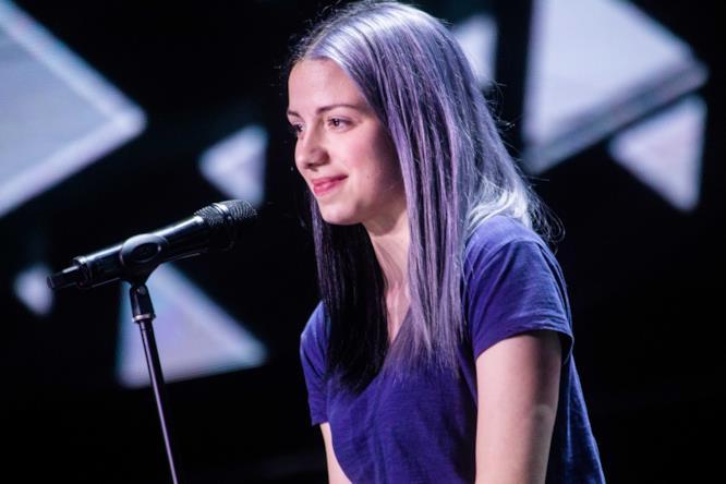 La cantante Camilla Musso