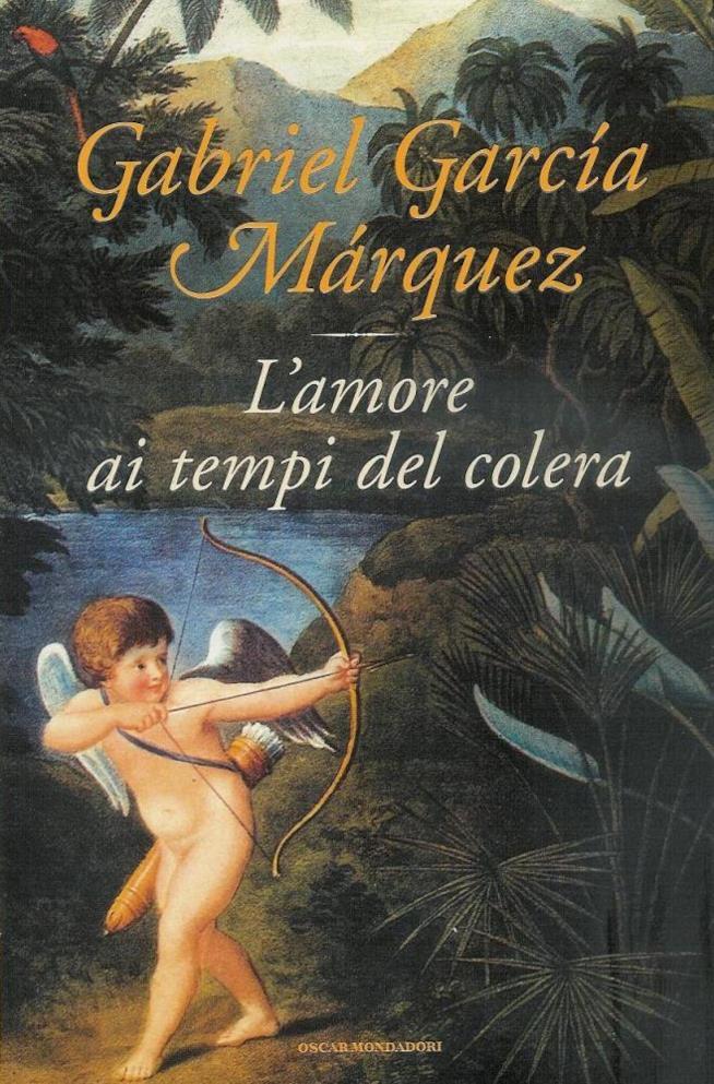 Cover del libro L'amore ai tempi del colera