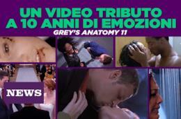 10 anni di emozioni in un video: le scene storiche di Grey's Anatomy