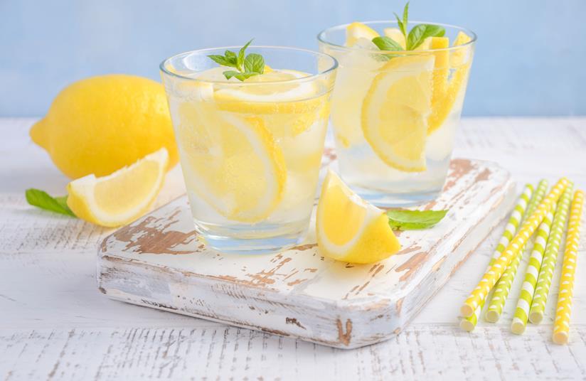 Cocktail al limone e menta