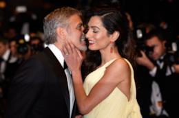 George Clooney insieme alla moglie Amal