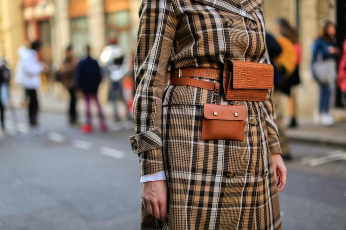 Streetwear London Fashion Week Cintura con marsupio