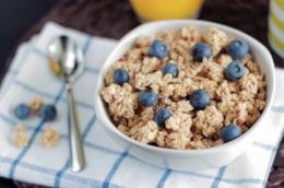 Cereali e benessere a tavola