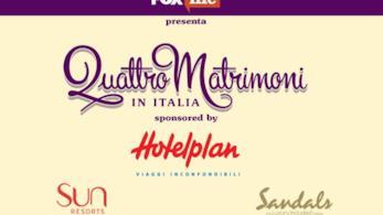 Quattro Matrimoni in Italia torna con quiz e no limit budget!