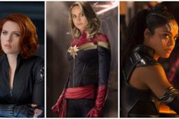 Alcune supereroine Marvel