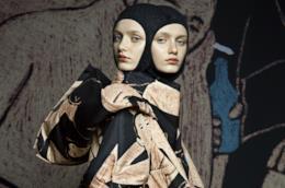 Capi della collezione del designer Triinu Pungits Hayami presente a White Milano