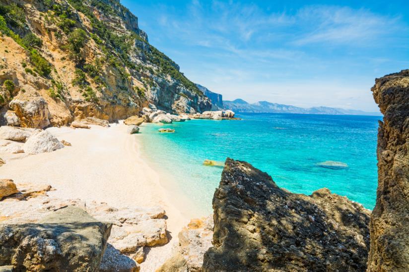 La spiaggia di Cala Mariolu in Sardegna
