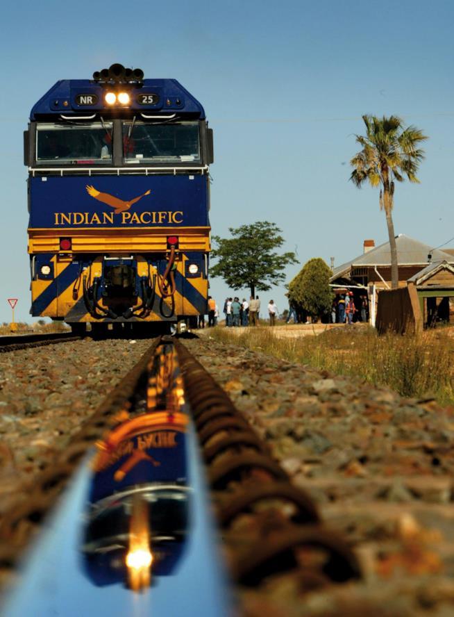Viaggio in treno in Australia sull'Indian Pacific