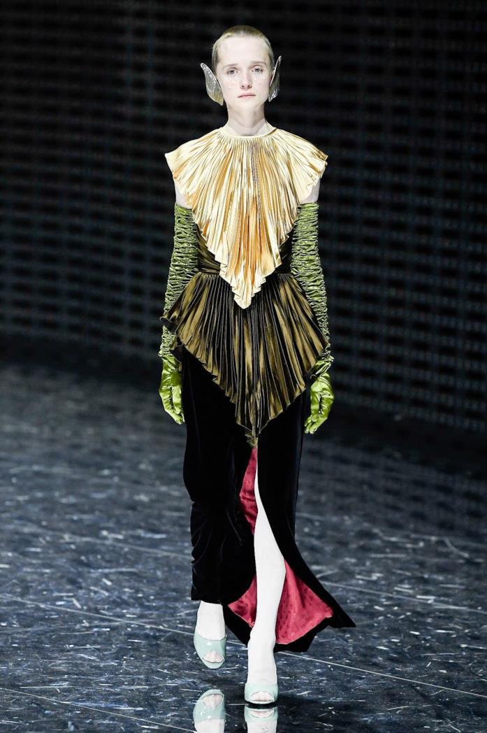 Gucci Milano fashion show 2019 2020