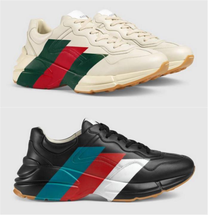 Sneaker Rhyton: le nuove scarpe sportive di Gucci