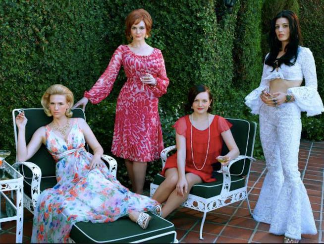 Joan, Betty, Peggy e Megan di Mad Men