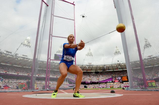 Silvia Salis alle Olimpiadi