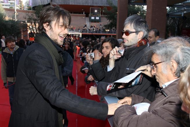L'attore Silvio Muccino, fratello del regista Gabriele