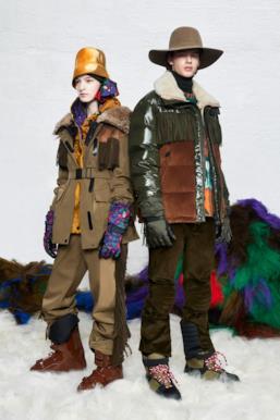 Sfilata MONCLER Collezione Donna Autunno Inverno 19/20 Milano - 85
