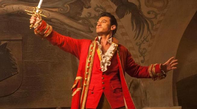 Luke Evans è Gaston