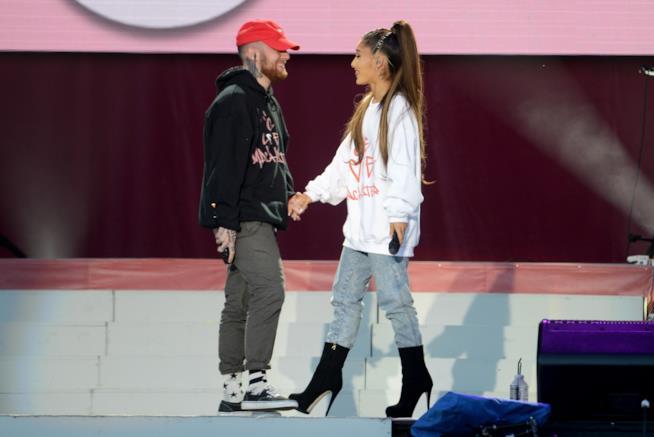 Mac Miller con Ariana Grande