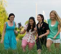Una scena del film 4 amiche e un paio di jeans