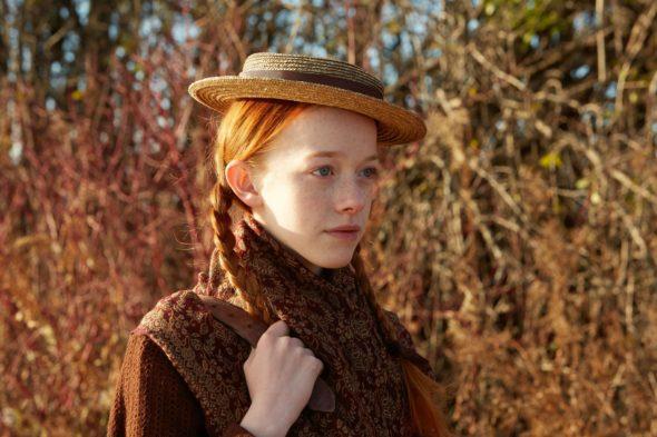 Anna dai capelli rossi nella serie Chiamatemi Anna
