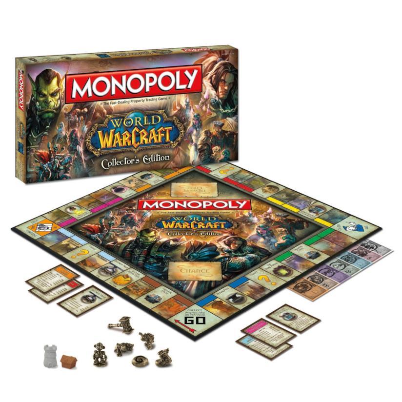 La versione di Monopoli di World of Warcraft