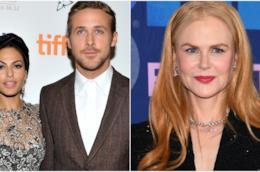 Eva Mendes, Ryan Gosling e Nicole Kidman