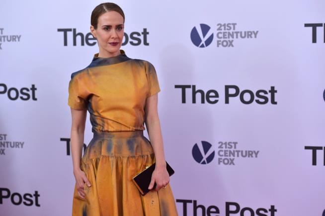 L'attrice Sarah Paulson